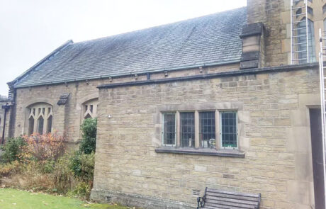 New churches and listed buildings